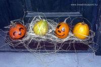 Halloween pályázat - Töklámpás - Egyszerűen