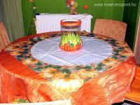 Halloween pályázat - Asztali töklámpás