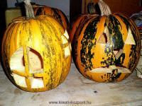 Halloween pályázat - Töklámpás - Házikó