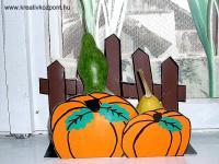 Halloween pályázat - Dísztök tartó