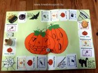 Halloween pályázat - Halloween-i társasjáték