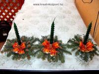 Karácsonyi pályázat - Koszorú díszek