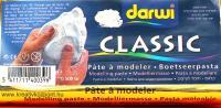 Levegőn száradó gyurma fehér - 0.5 kg - darwi