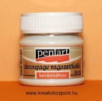 Kerámia decoupage ragasztó - Pentart