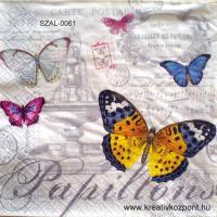 Szalvéta - Lepkék V.