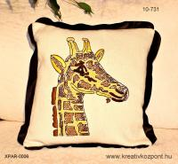 Keresztszemes - Zsiráf párna