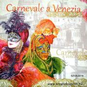 Szalvéta - Velencei karnevál