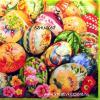 Szalvéta - Húsvéti hímes tojások V.