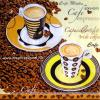 Szalvéta - Két pohár cappuccino