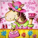 Szalvéta - Pink Póni