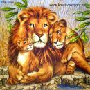Szalvéta - Oroszlán család