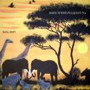 Szalvéta - Afrikai állatok IV.