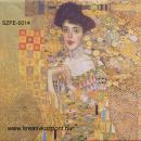Szalvéta - Klimt - Adele Bloch-Bauer