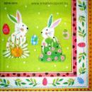 Szalvéta - Húsvéti nyuszik