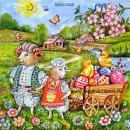 Szalvéta - Húsvéti bárány család