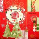 Szalvéta - Karácsonyfa pár