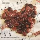 Szalvéta - Kávé szimfónia