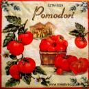 Szalvéta - Paradicsom ládában