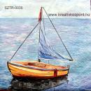 Szalvéta - Sárga csónak