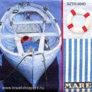Szalvéta - Csónak evezőkkel