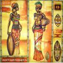Szalvéta - Afrikai nők I.