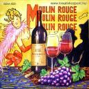 Szalvéta - Párizs - Moulin Rouge