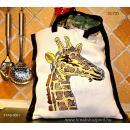 Keresztszemes - Zsiráf táska
