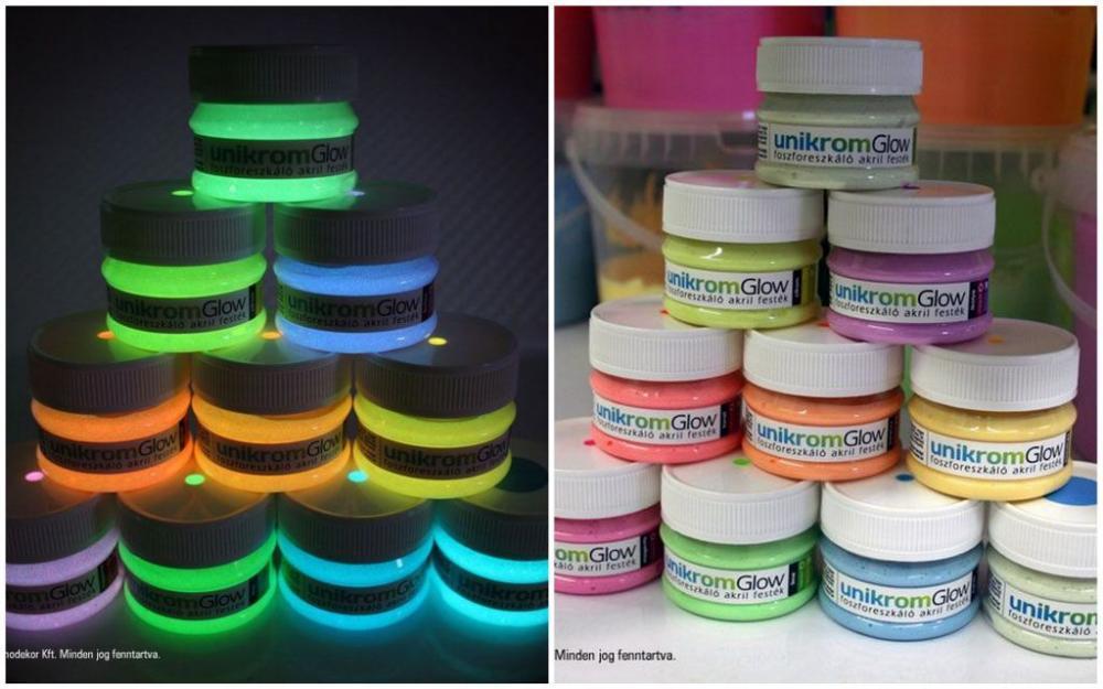 f6e37523aa Világító festékek már 10 féle színben! | Kreatív Központ